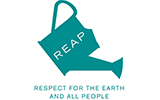 REAP logo - teal watering can