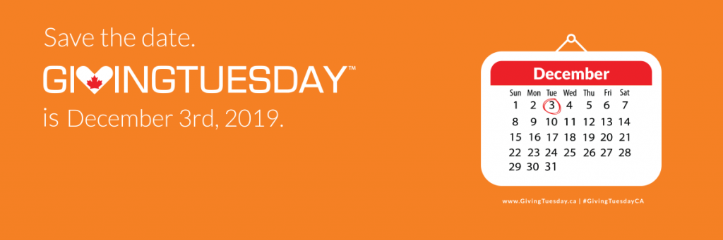 orange #GivingTuesday logo