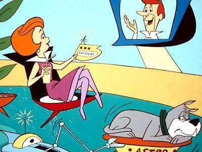 1962 Jetsons cartoon video phone