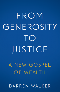 Generosity to Justice Cover page